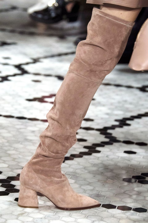 Footwear, Shoe, Leg, Fashion, Boot, Brown, Beige, Knee-high boot, Ankle, Riding boot,