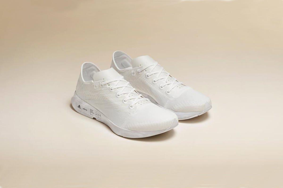 Futurecraft. Footprint, la zapatilla de running más sostenible del mundo es de Adidas y Allbirds