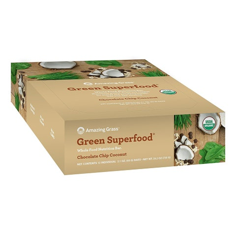 Amazing Grass Green Superfood Whole Food Nutrition Bar