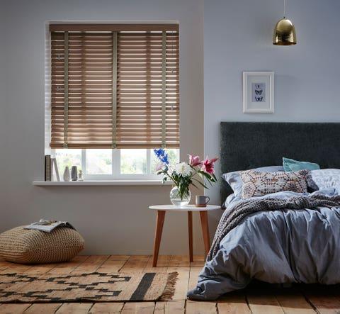 Room, Furniture, Interior design, Bedroom, Window covering, Window treatment, Floor, Curtain, Wall, Window blind,