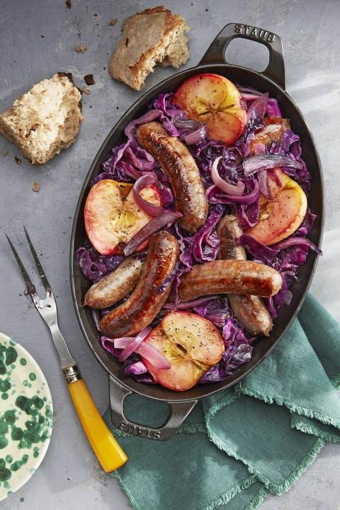 apple recipes sausage