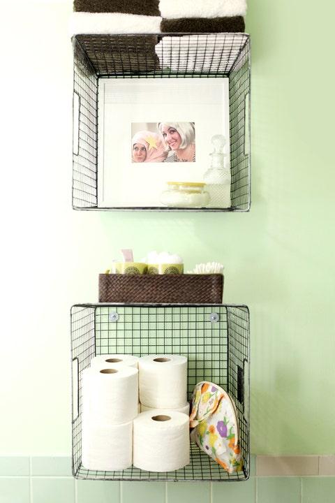 bathroom organization ideas baskets
