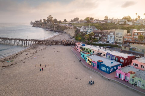 best beach towns capitola california
