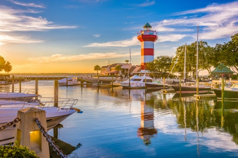 best beach towns hilton head island