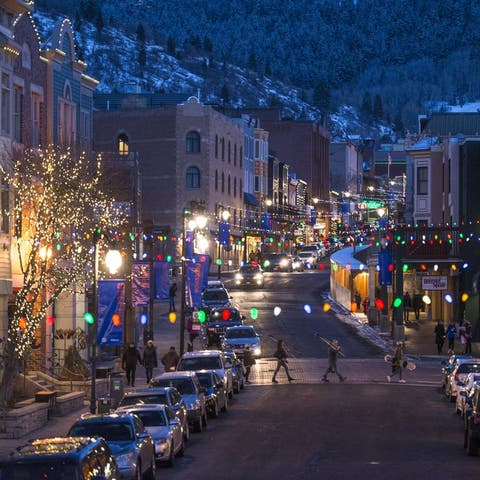 best christmas towns park city ut
