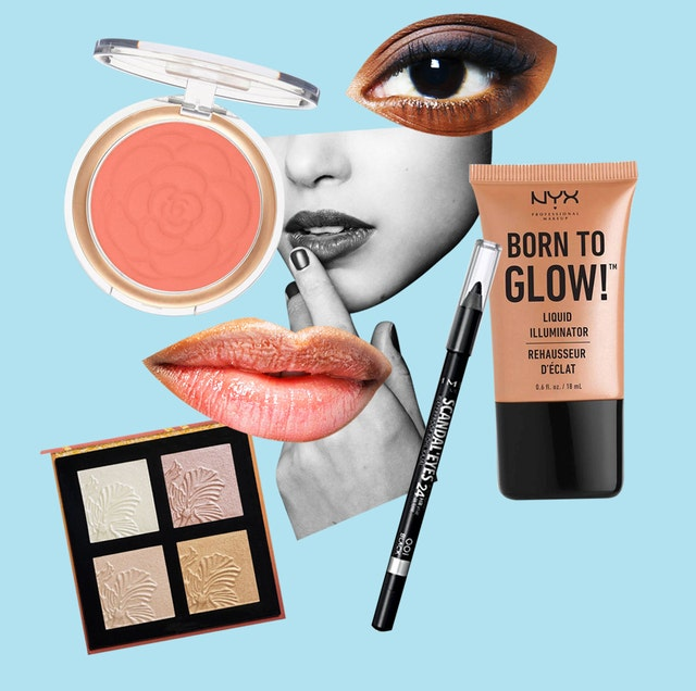 Brown, Organ, Peach, Eyelash, Cosmetics, Eye shadow, Paint, Face powder, Eye liner, Illustration,