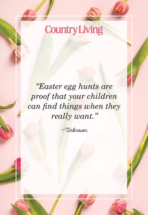 easter egg hunts are proof that children can find things when they really want