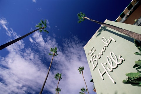 The Beverly Hills Hotel, Los Angeles, California, USA, North America