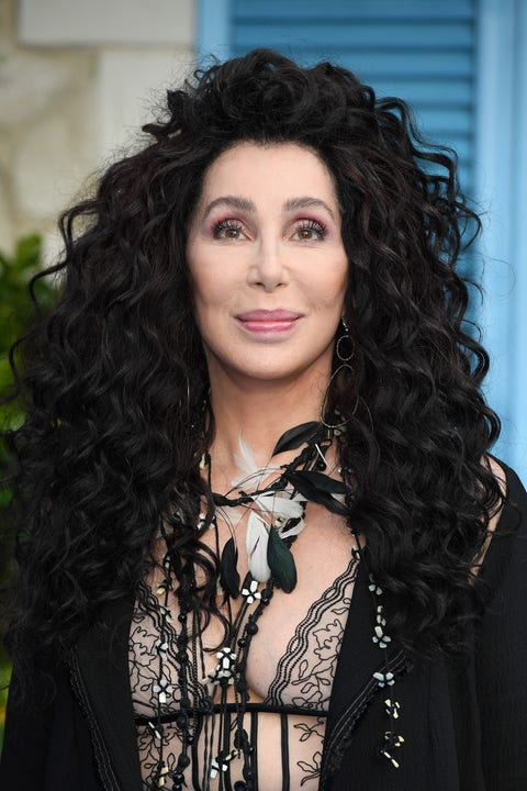 """cher on the red carpet at the """"mamma mia here we go again"""" world premiere"""