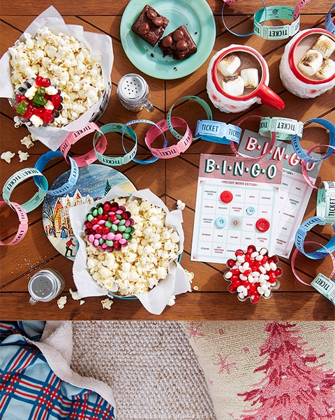 holiday movie watching party