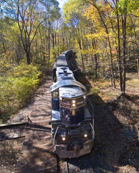 colebrookdale railroad fall foliage train