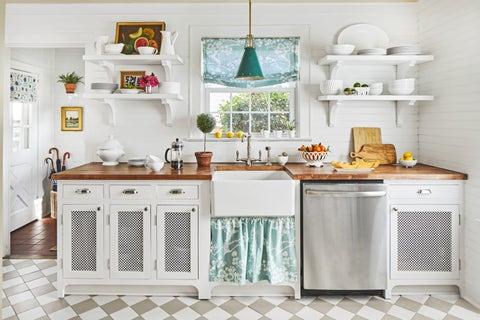 cottage decor kitchen