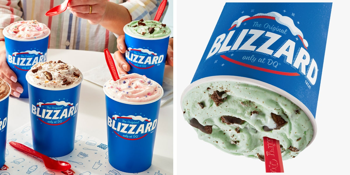 Dairy Queen's New Summer Blizzard Lineup Includes One With Girl Scouts Thin Mints Cookies