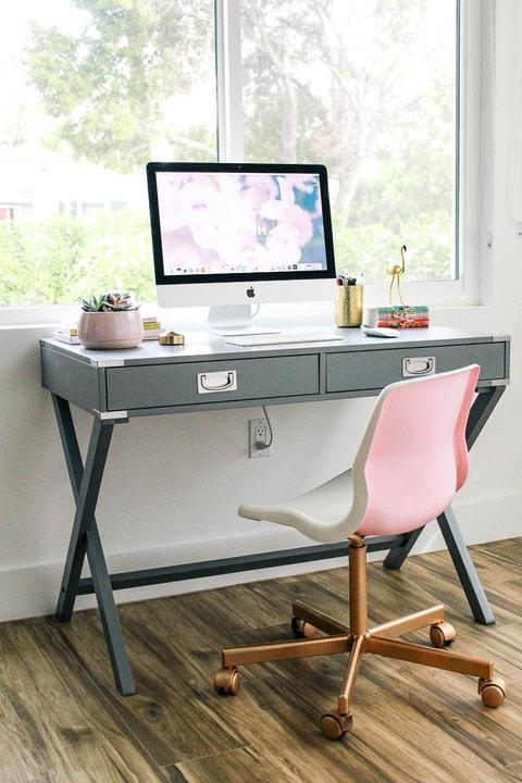 diy home office decor pretty chair