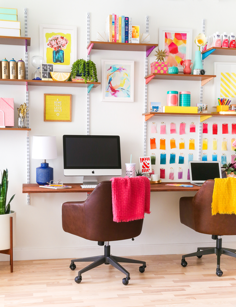 diy home office decor save space