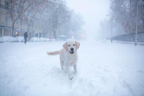 spain weather snow