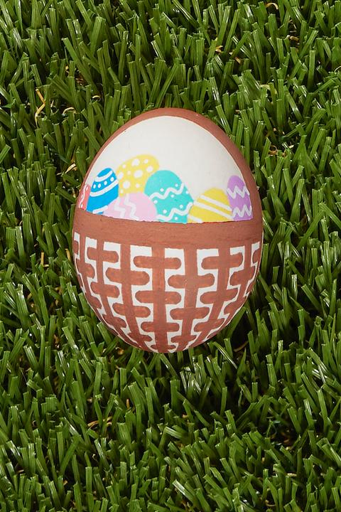 easter egg decorations designs basket