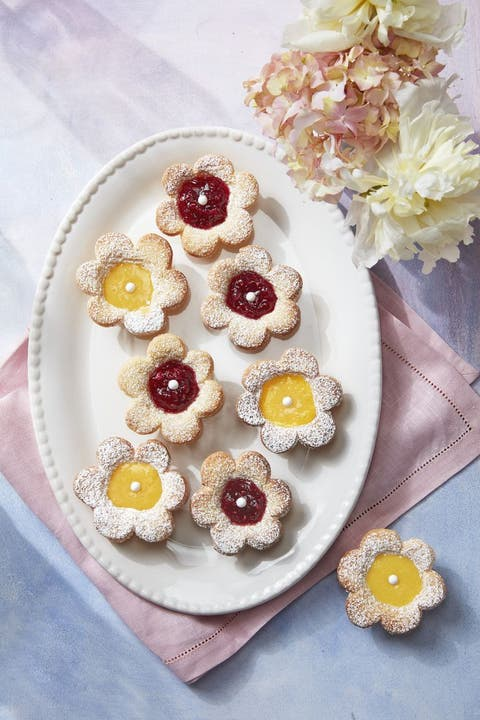 easter treats fruit tarts
