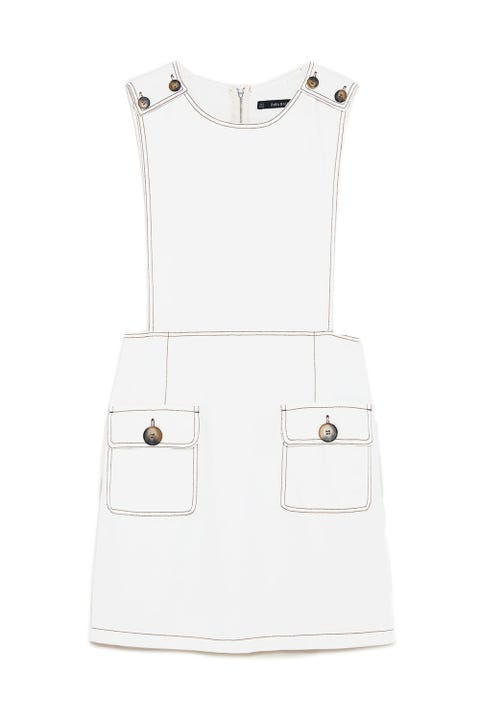 White, Clothing, Dress, Beige, Outerwear, Cocktail dress,