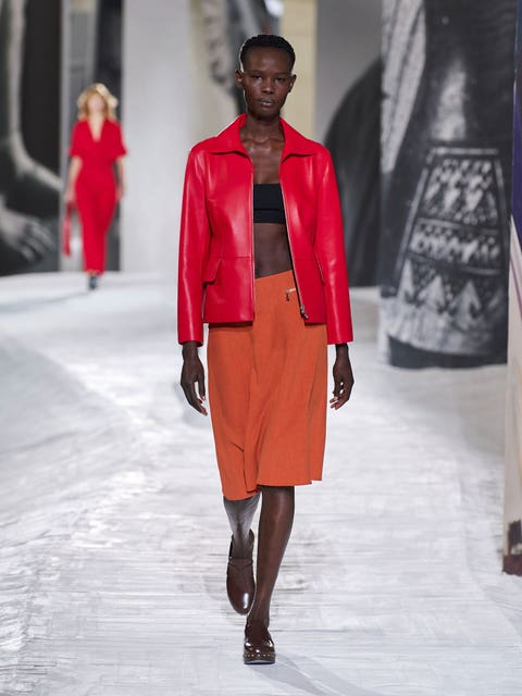 clogs in the hermès spring 2021 show