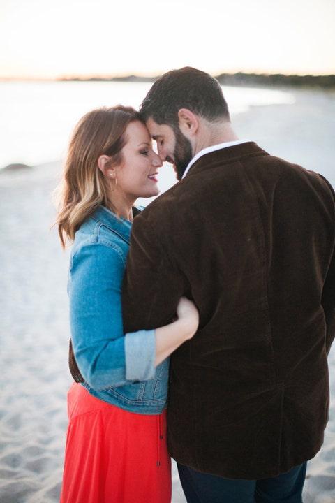 Sleeve, Standing, People in nature, Interaction, Jacket, Love, Romance, Denim, Waist, Honeymoon,