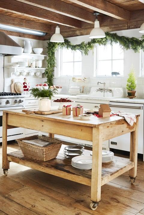 Farmhouse Decor Ideas Kitchen Island