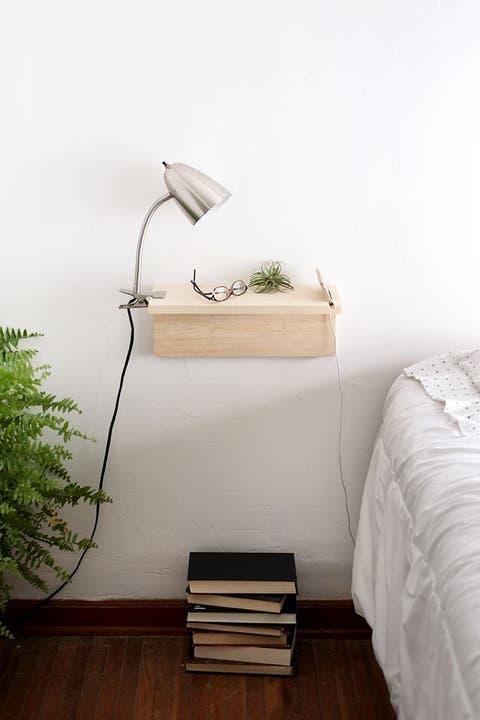 floating nightstands diy