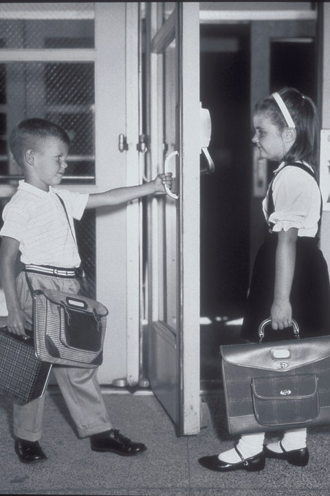 Photograph, White, Black, Standing, Monochrome, Black-and-white, Snapshot, Monochrome photography, Child, Photography,