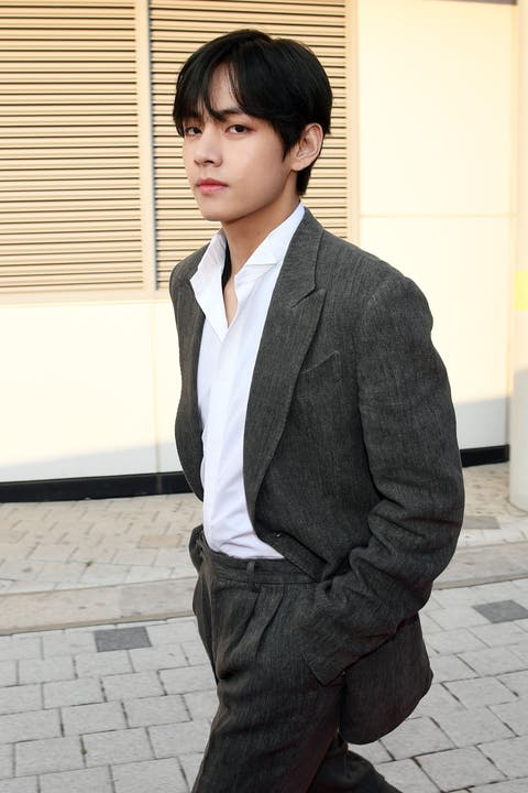 Suit, Clothing, Formal wear, Blazer, Outerwear, Hairstyle, Snapshot, Forehead, Tuxedo, Cool,
