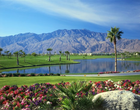 the doral desert princess resort 27 hole championship golf course was designed by david rainville
