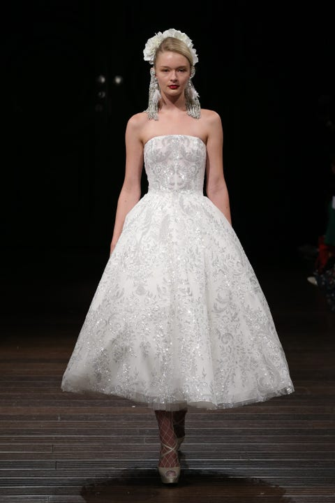 Gown, Wedding dress, Clothing, Dress, Fashion model, Bridal clothing, Bridal party dress, Fashion, Haute couture, Bride,