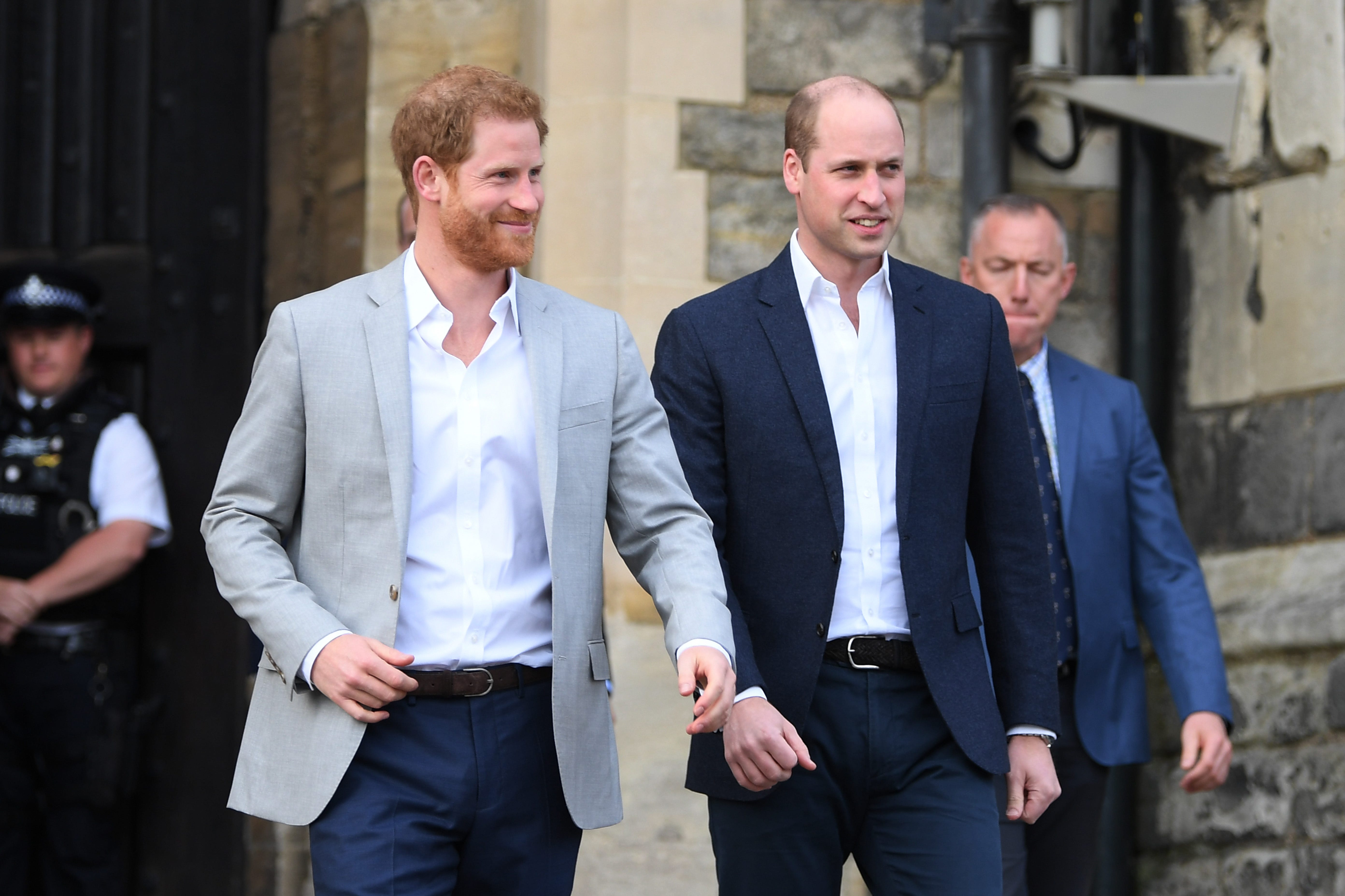 Lip Reader Reveals What Harry and William Said During Their Reunion and It's Totally Drama-Free