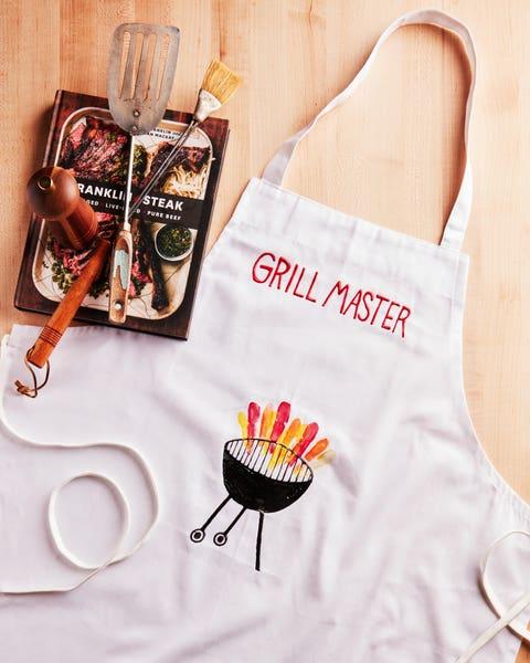 diy grilling apron