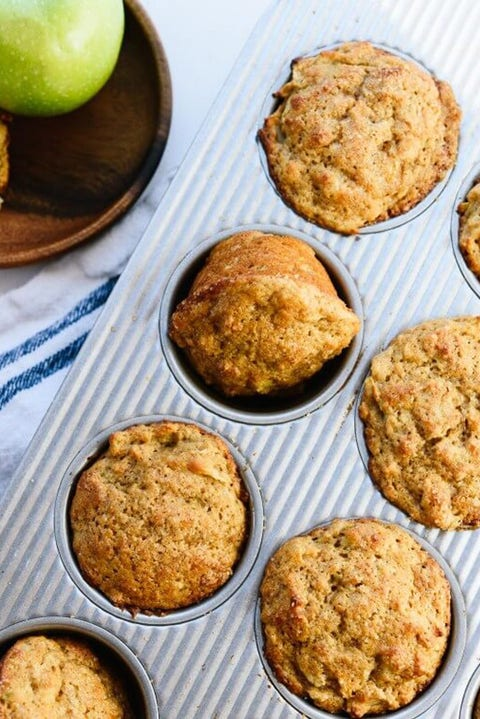 healthy apple recipes muffins