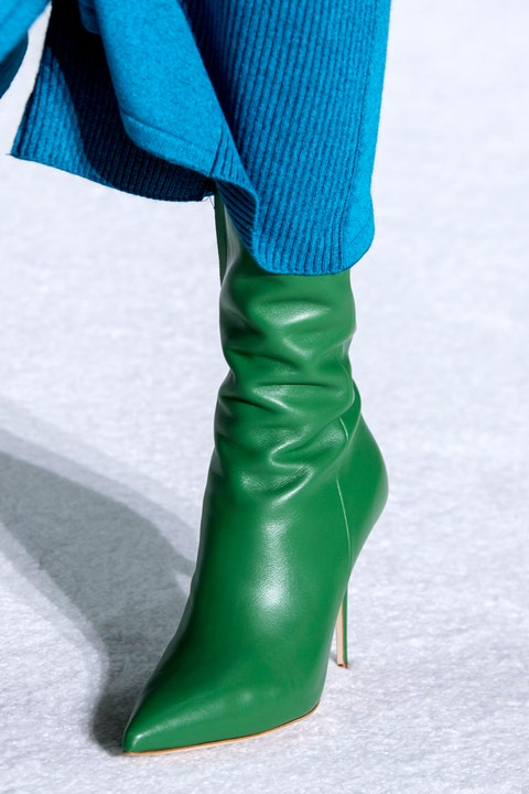 Blue, Green, Textile, Boot, Teal, Aqua, Electric blue, Costume accessory, Turquoise, Leather,