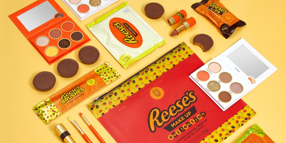 HipDot Has Partnered With Your Favorite Candy to Create a Reese's Makeup Collection