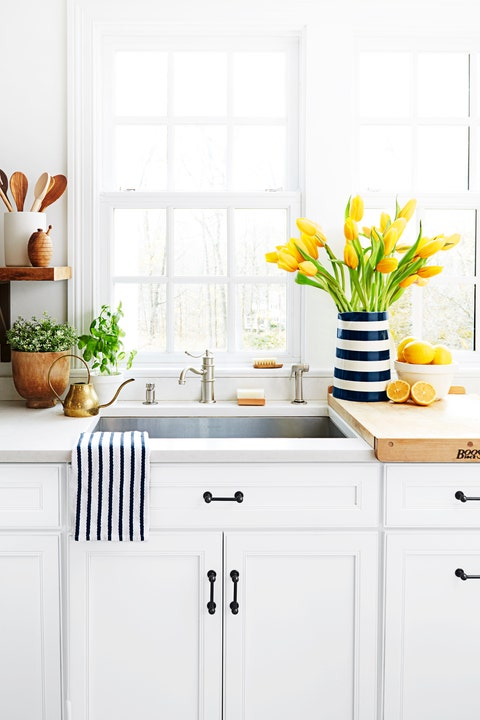 kitchen sink spring cleaning
