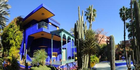 Jardin Majorelle,Marrakech — Morocco