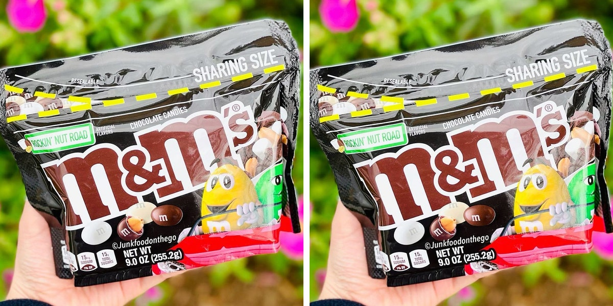 M&M's New Rockin' Nut Road Candy Is Filled With Marshmallow Flavor