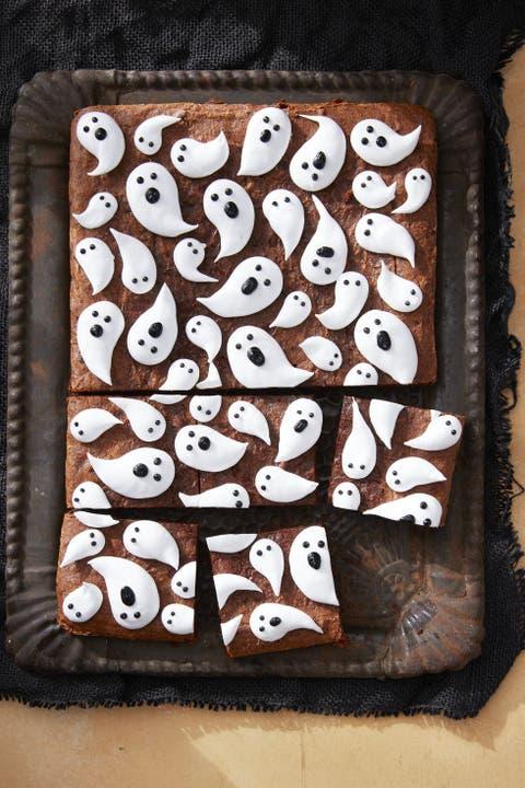 marshmallow ghost brownies recipe