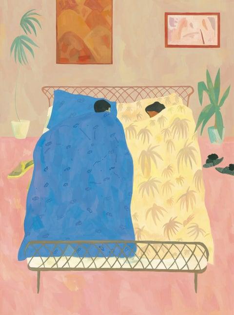 postnup couple bedroom