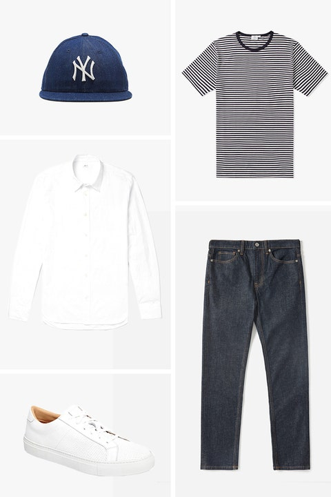 men's summer outfit ideas:Everyday Essentials