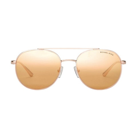 Michael Kors Men's Lon Rounded Aviator Sunglasses