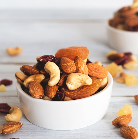 best food for hair growth - nuts