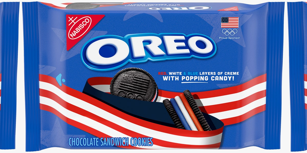 Oreo's New Olympic Cookies Have Three Layers of Creme That Are Mixed With Popping Candy