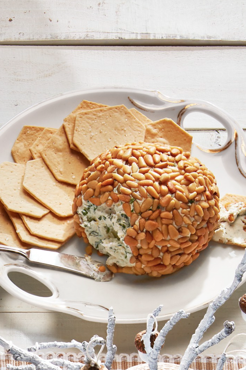 herbed cheese ball new years eve appetizers