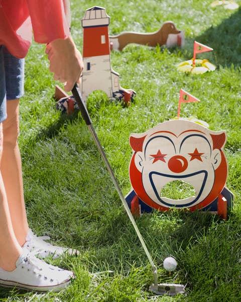 DIY Outdoor Games-Backyard Mini Golf