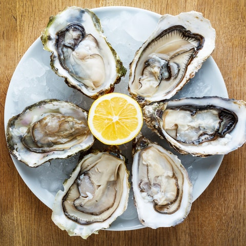 best foods for hair growth -Oysters