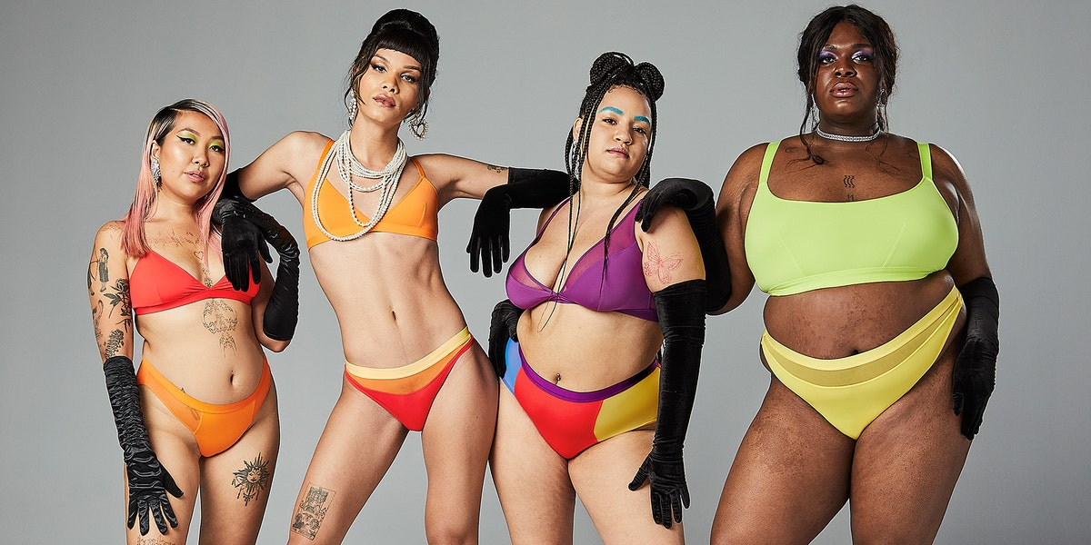 Parade's New Color Outside the Lines Collection Adds Bursts of Fun to Your Underwear and Bralettes