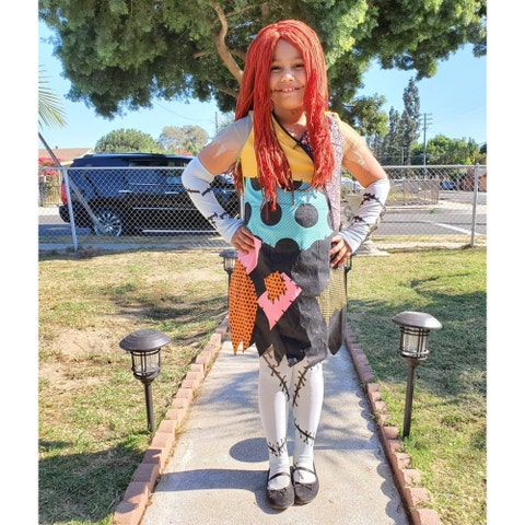 patchwork kids costume